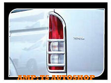 FOR TOYOTA HIACE COMMUTER 2011-2013 CHROME REAR TAIL LAMP LIGHT COVER TRIM
