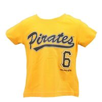Pittsburgh Pirates Genuine MLB Infant Toddler Size Starling Marte Shirt New Tags