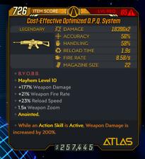 Borderlands 3 [PS4] Level 65 OPQ SYSTEM ASA 200 [MAYHEM 10]