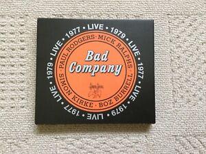 Bad company live 1979 cd new
