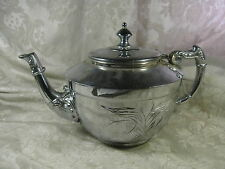 Vintage Lexington Silver Plate S.P. Company Quadruple Plated Tea pot #50