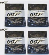 JAMES BOND 007 MENS 0.7ml x 8 EDT FRAGRANCE SAMPLES BRAND NEW POCKET SIZE TOP UP