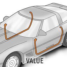 1990-1996 Corvette C4 Door Seals All Models Pair 649097