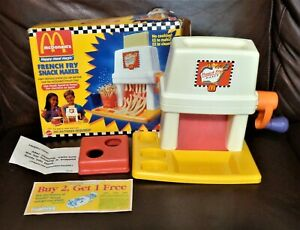 McDonalds French Fry Maker Happy Meal Magic Mattel 1993 Vintage CLEAN