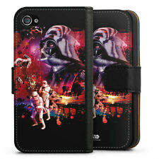Apple iPhone 4 Tasche Hülle Flip Case - The Dark Side