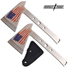 """2pc Perfect Point Throwing Axe Set - Tactical Tomahawk Survival Hatchet 9 1/4"""""""