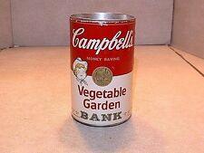 Vintage Campbells Advertising Soup Can Still Bank