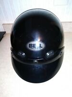 Bell Shorty DOT Approved Motorcycle Helmet XXS Gloss Black w/visors & bag