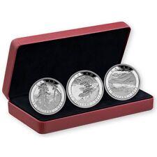 Canada 2015 $15 Fine Silver Coins Carmichael 3 Coin Set 125th Anniversary RCM