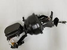 """Chevy c10 Suburban Truck 8"""" BLACK Brake Booster Smooth Master Cylinder DISC DISC"""