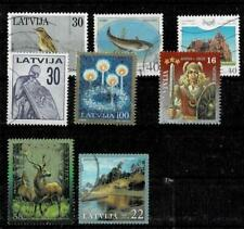 Latvia small lot of used stamps, lot #2