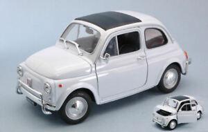 Model Car Scale 1:18 Fiat 500 L 500L modellcar diecast Classic White