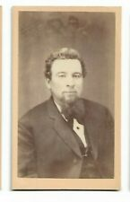 Vintage CDV - Unidentified Gentleman - Photo by J F Keniston, Andover, NH (3580)