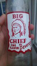 Louisiana Big Chief ACL soda bottle