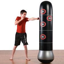 1.6m Inflatable Boxing Punching Bag Kick Training Tumbler Sandbag Sport Play AU