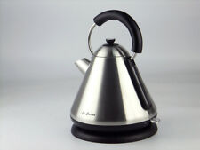 Electric Automatic hot water Kettle 1.7L Pyramid 360 Cordless 2200W stainless