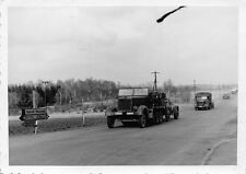 Orig. Foto Halbkettenfahrzeug Sd.Kfz. 8, 15-cm schwere Feldhaubitz n. Saarbrücke