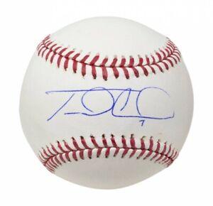 Travis D'Arnaud Atlanta Braves Signed Baseball -Fanatics Hologram Authentication