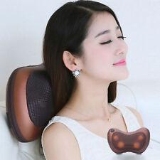 Electronic Massage Pillow Massager Cushion Car Lumbar Neck Back Shoulder RI