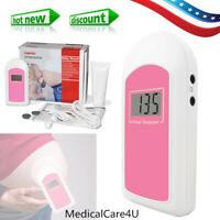 Baby Sound B Monitor de frecuencia cardíaca prenatal fetal Doppler, gel gratuito