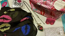 Betsey Johnson Earrings Lips and Accessories Fashion Lot Gift