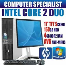"""PC de bureau Windows 7 HP 17"""""""