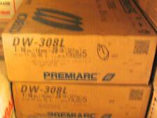 "28/lbs DW-308L Stainless Steel 1/16"" Welding Wire, 12"" Spool (KOBELCO-PremiArc)"