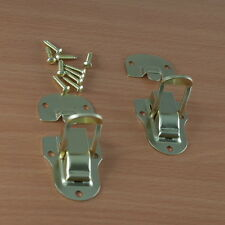 (2 pcs) Toggle Catch Latch Case Chest Box - BRASS COLOR