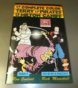 1991 Complete Color TERRY And The Pirates v. #2 VF+ SIGNED Rick Marschall 1st Ed