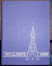 1989 SYLLABUS NORTHWESTERN UNIVERSITY YEAR BOOK NICE REPLACEMENT! CHECK IT OUT!