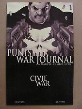Punisher War Journal #1 Marvel 2007 Series Black & White Variant 9.6 Near Mint+