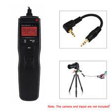 Lcd minuterie télécommande déclencheur cordon pour Canon Rebel T1i T2i T3i T4i T5i T6i T3