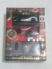 FAO Schwarz 2 pack Remote Control Sports Italia Car 1:50 Scale LED Lights Age 6+