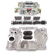 Edelbrock 2111PK Performer Power Package; Intake Manifold, Carburetor and Cams