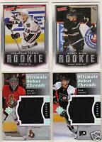 07-08 Ultimate Ryan Parent /200  Debut Threads Jersey Flyers 2007