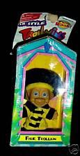 """FIREMAN 5"""" Trollkins Troll Doll NEW IN BOX Fire Troll"""