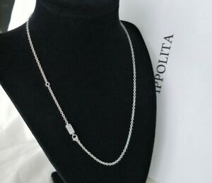 """IPPOLITA - Sterling Silver Rolo Chain Link Necklace - 18"""" length - Stunning!"""
