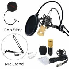 BM-800 Professional Broadcasting Studio Recording Condenser Microphone Mic Kit k