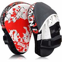PU Leather Boxing Kick Hand Target Glove Punch Pad Focus MMA Muay Thai Training