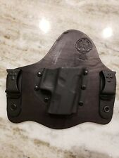 Crossbreed Holster - Leather - In the Waistband (Right) - Holster for Glock 21