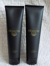 AVON MESMERIZE BLACK FOR HIM - AFTER SHAVE CONDITIONER - 100ml x 2   *BRAND NEW*