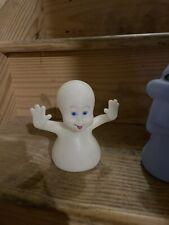"Casper The Friendly Ghost Hand Puppets 5"" Glow in dark set of 4 -Pizza Hut 1995"