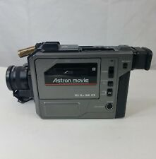 Elmo Camcorder Astron Movie Video Recording Playback Model# ECR-8 AF Piezo 1986