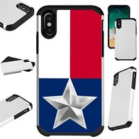 FusionGuard For iPhone 6/7/8 PLUS/X/XR/XS Max Phone Case TEXAS FLAG