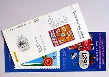 publicité siècle au fil du timbre 2001 Casimir Nounours Jean Mineur télé + CP