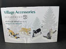 Stray Cat Strut Dept 56 Village Accessories 4020252 Christmas Kitty Snow City