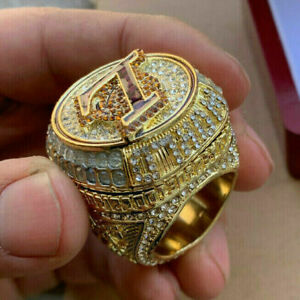 New 2020 Los Angeles Lakers NBA Championship Ring James Gift Fans -40%