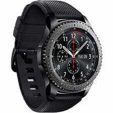 New Imported Samsung Gear S3 frontier smart watch SM-R760 Space Grey