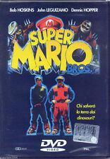 Super Mario Bros (1993) DVD NUOVO SIG Bob Hoskins. John Leguizamo. Dennis Hopper