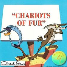 "CHUCK JONES ""CHARIOTS OF FUR"" H/S L.E. ANIMATION CEL"